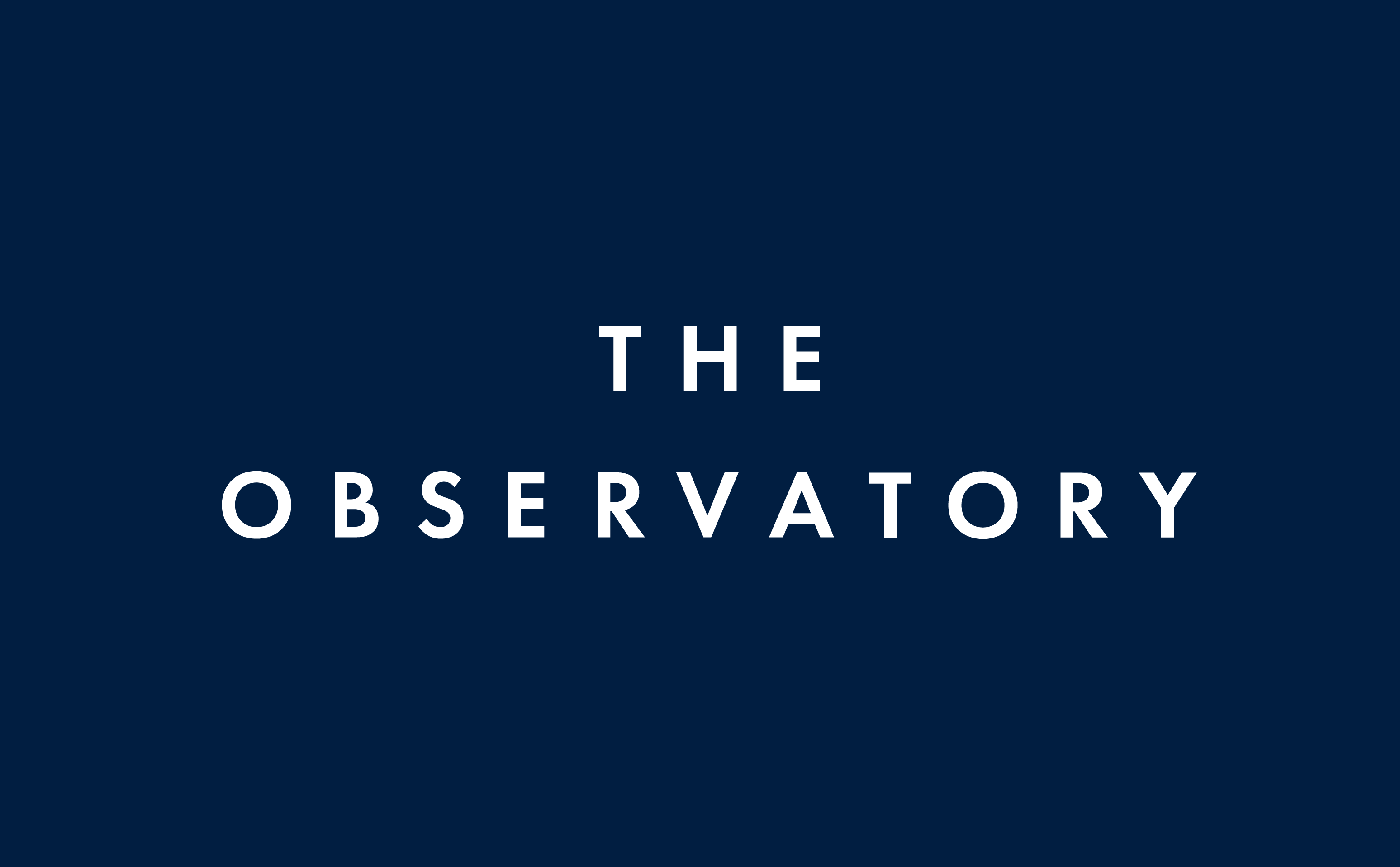 Logo The Observatory